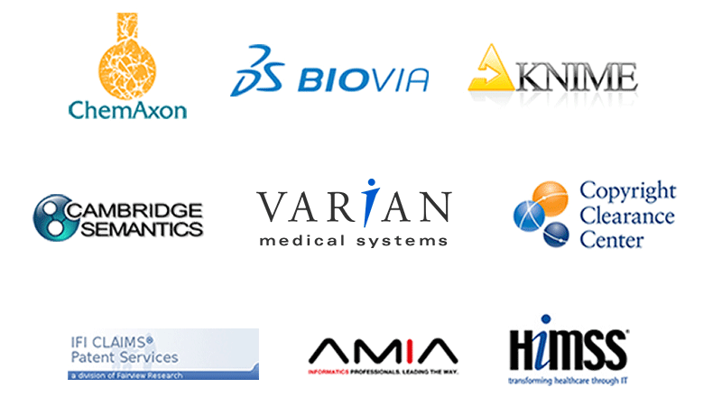 Linguamatics partners with global informatics software providers such ChemAxon, Biovia and Knime