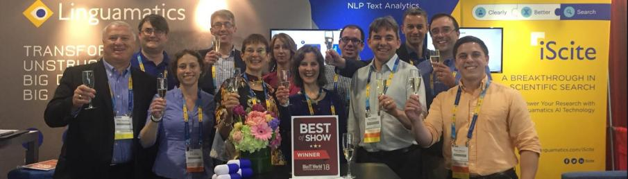 Linguamatics iScite 2.0 Wins Bio-IT World's Best of Show Judges' Prize