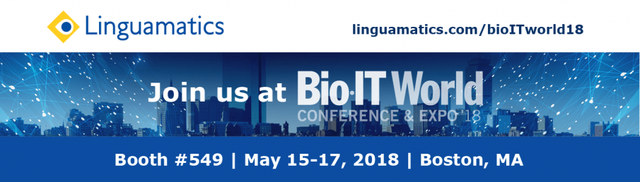 Linguamatics at Bio-IT World 2018