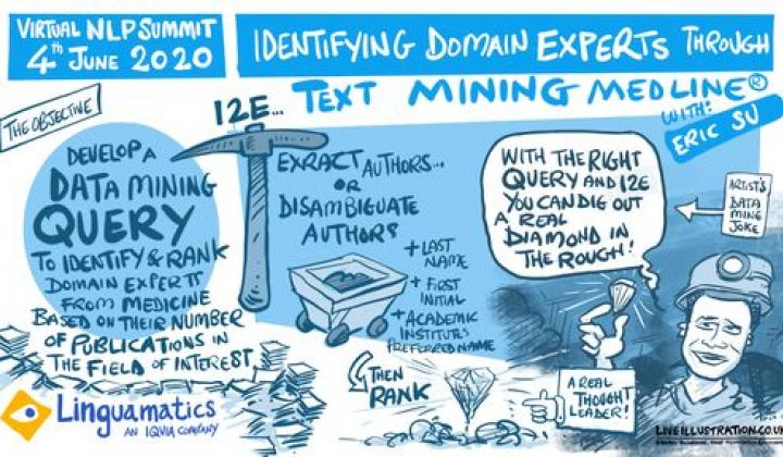 Webinar: Identifying Domain Experts through Text-Mining Medline - Eric Su